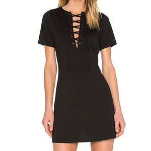 Lucca Couture Dresses - LUCCA COUTURE Lace Up Shift Dress